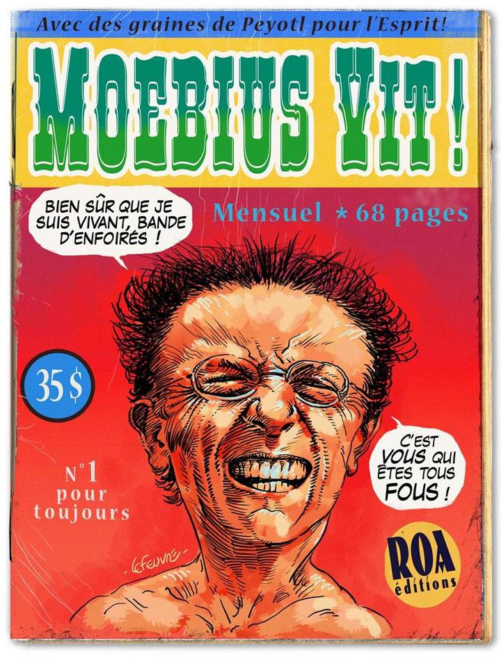 Laurent Lefeuvre pour Moebius