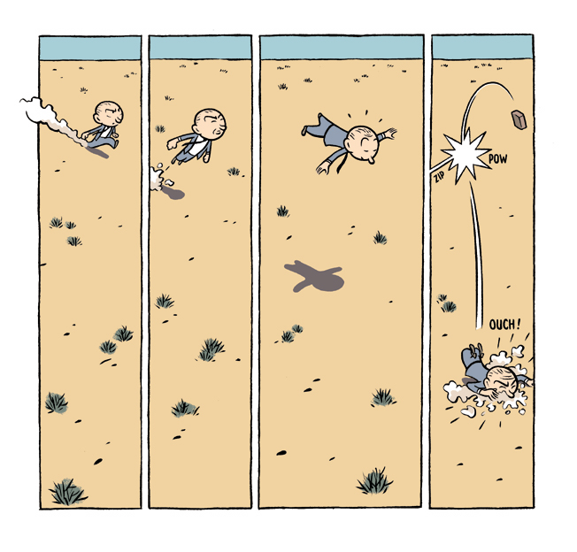 Max strip 1 pour Moebius