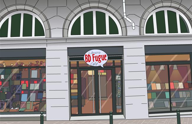BD fugue Café Grenoble
