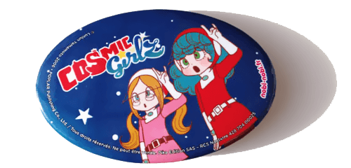 badges cosmic girls