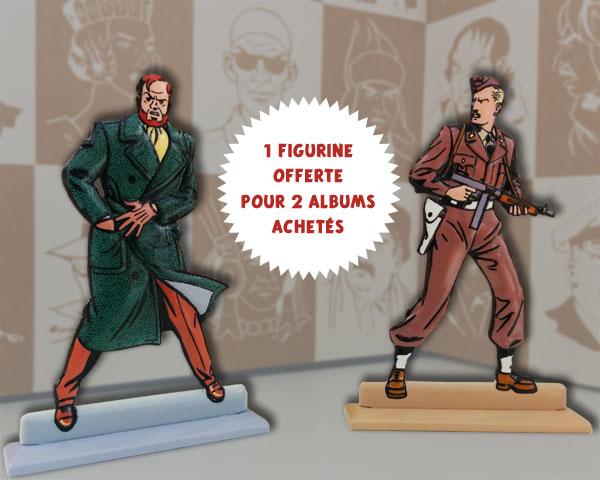 figurines blake et m
