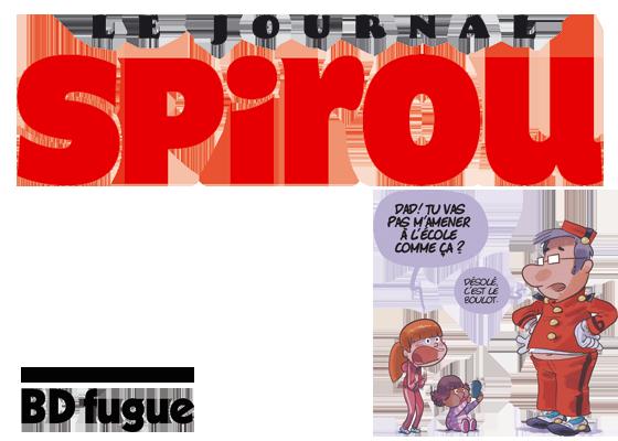 Dad journal Spirou