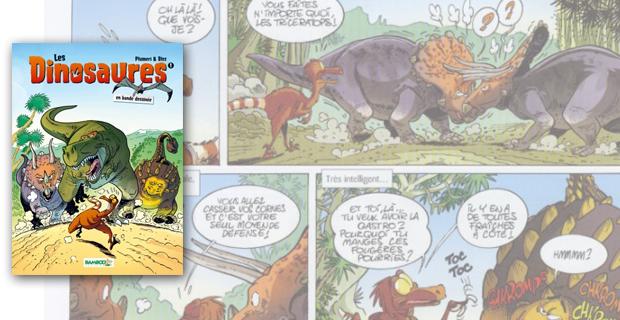 dinosaures en BD