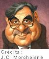 caricature Bernard Pivot