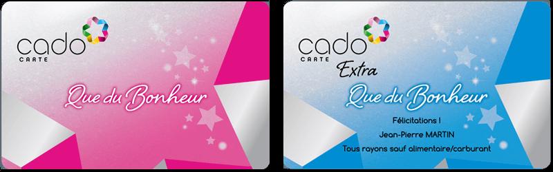 cado carte que du bonheur Dépenser une CADO carte pour acheter des BD