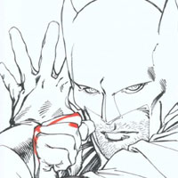 Batman d'ombre et de lumière