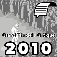 Grand Prix de la critique 2010