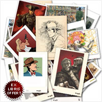 Ex-Libris exclusifs bandes dessinées