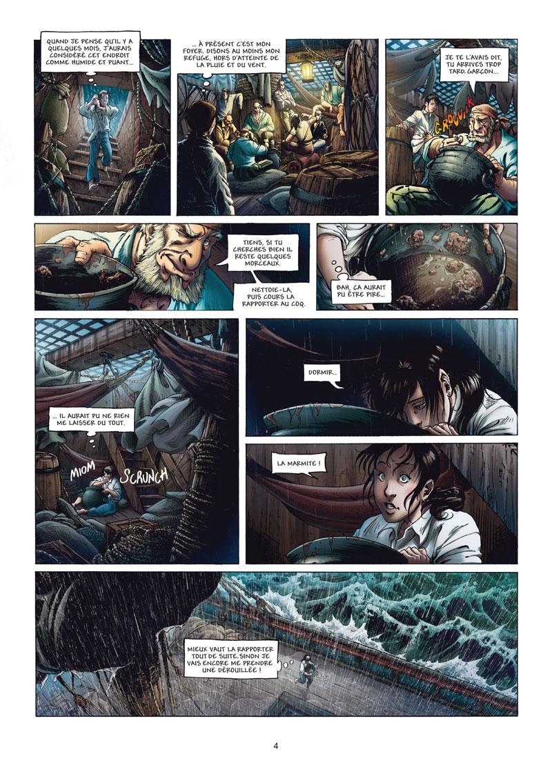 """Résultat de recherche d'images pour """"les aventuriers de la mer bd tome 3"""""""
