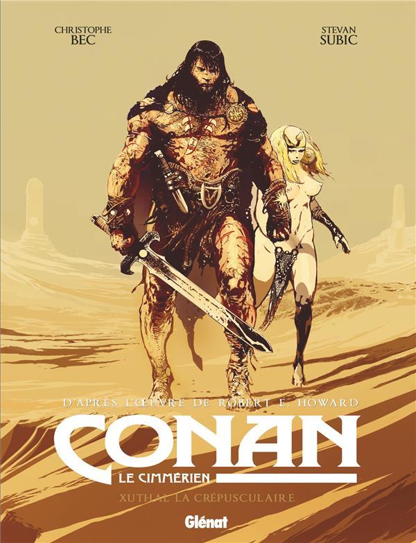 Couverture du premier album de la série Conan le Cimmérien