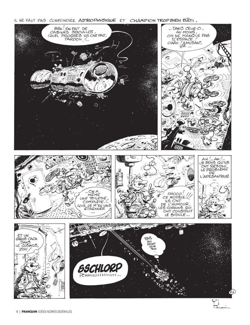 Page 6 Franquin , Il était une fois Idées noires