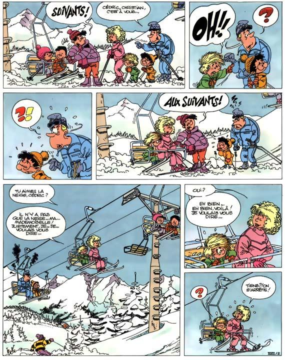 bande dessinee neige