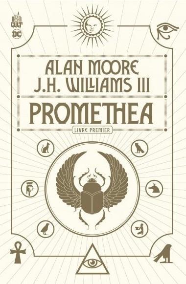 Couverture du premier album de la série Promethea (2020)