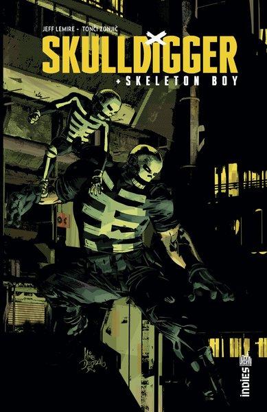 Couverture du premier album de la série Skulldigger & skeleton boy