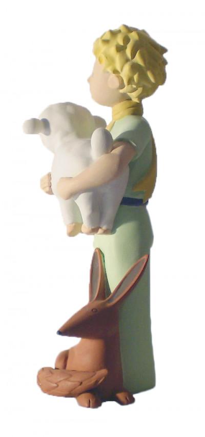 Page 1 Figurine Le Petit Prince avec le renard et le mouton