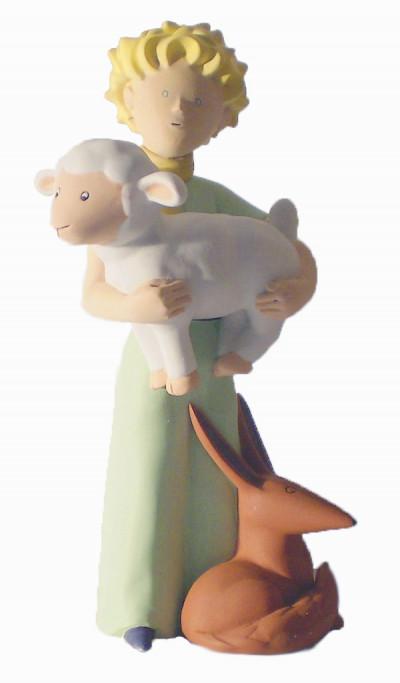 Page 7 Figurine Le Petit Prince avec le renard et le mouton