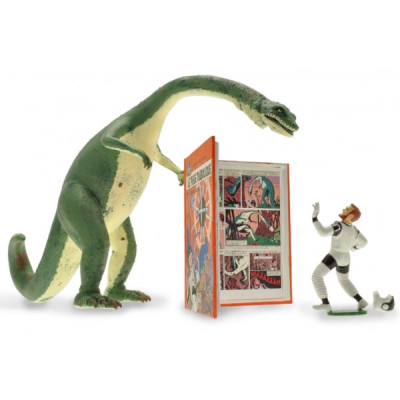 Couverture Figurine Blake et Mortimer - Piège diabolique