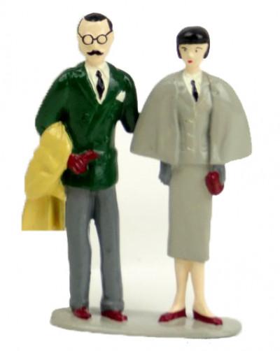 Page 9 Figurine Francis Albany et Olivia Sturgess
