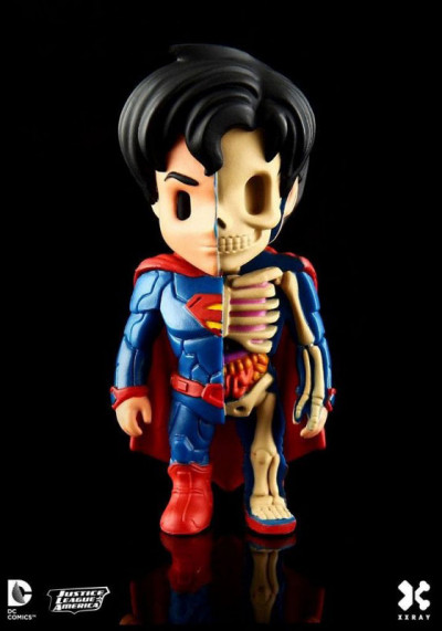 Couverture Figurine Superman X-Ray