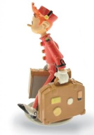 Page 1 Figurine Spirou et ses valises