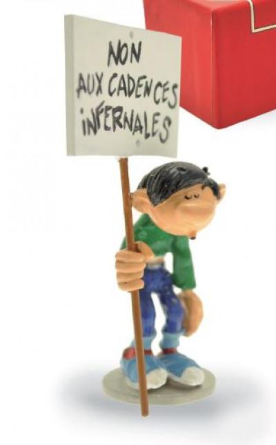 Page 2 Figurine Gaston avec pancarte Non