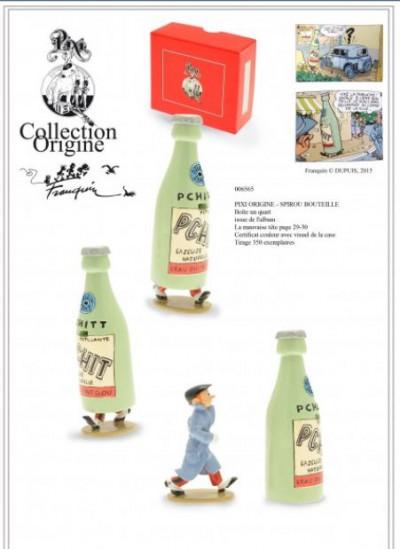 Page 2 Figurine Spirou bouteille