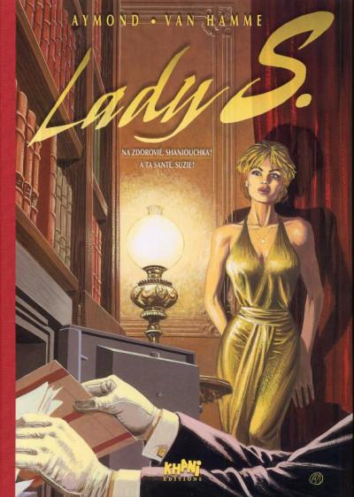Page 1 Tirage de tête Lady S tome 1 + tome 2