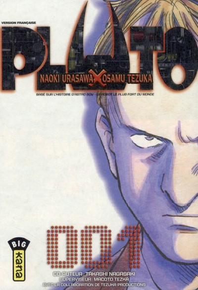 Page 1 Pluto : les 8 tomes