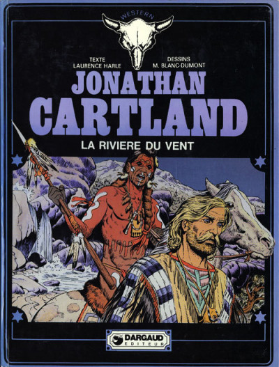 Couverture Jonathan Cartland tome 5 - La rivière du vent