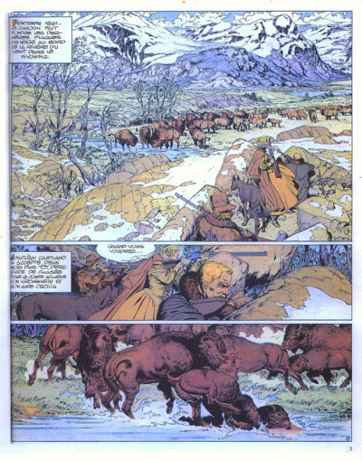Page 1 Jonathan Cartland tome 5 - La rivière du vent