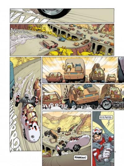 Page 2 Tirage de tête sillage tome 13 - dérapage contrôlé