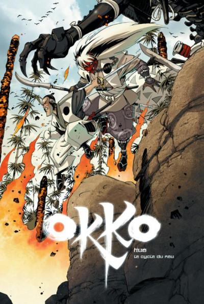 Couverture Okko - le cycle du feu - Tirage de tête tome 7 + tome 8