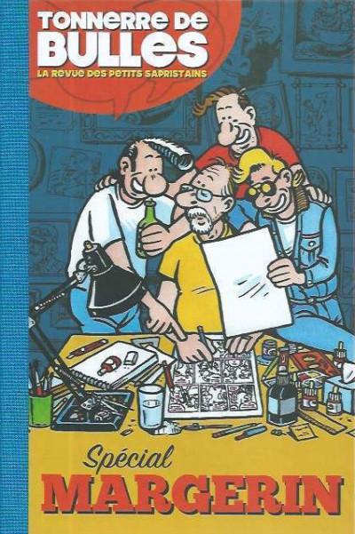 Couverture Tonnerre de bulles - Spécial Margerin (éd. toilée) + ex-libris signés offerts
