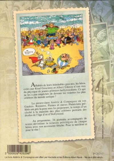 Couverture Astérix (Hors Série) tome 4 - Astérix & compagnie (éd. 2009)