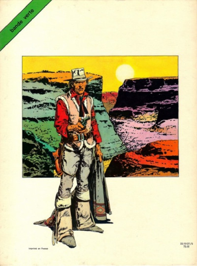 Couverture Amargo tome 1 - Le bal des vautours (éd. 1975)