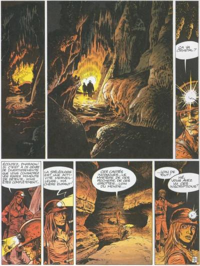 Couverture Pharaon tome 1 - Philtre pour l'enfer (éd. 1981)
