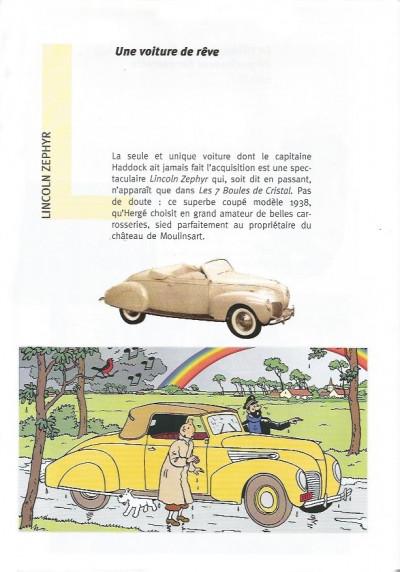 Couverture Tintin - Publicités tome 13 - Les 7 Boules de Cristal (éd. 1999)
