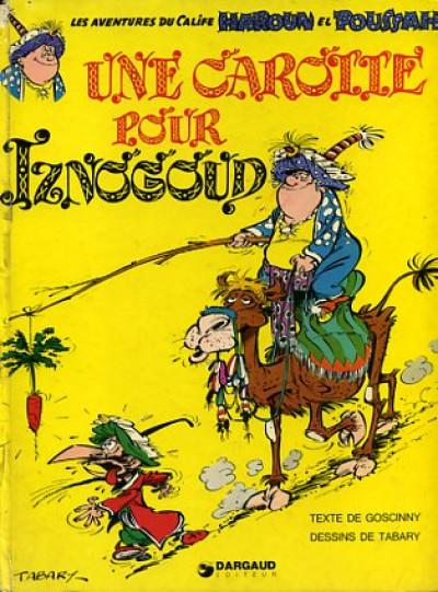 Couverture Iznogoud tome 7 - Une carotte pour Iznogoud (éd. 1975)