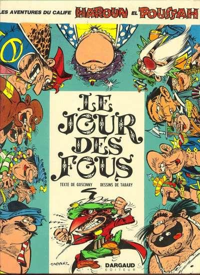 Couverture Iznogoud tome 8 - Le jour des fous (éd. 1972)