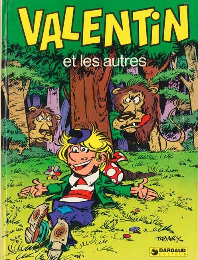 Couverture Valentin le vagabond tome 5 - Valentin et les autres (éd. 1975)