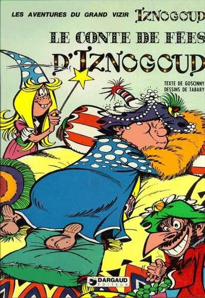 Couverture Iznogoud tome 12 - Le conte de fées d'Iznogoud (éd. 1976)