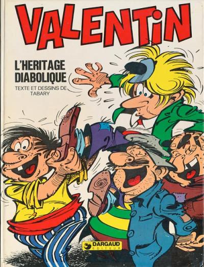 Couverture Valentin le vagabond tome 6 - L'héritage diabolique (éd. 1977)