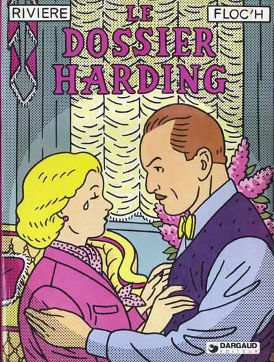 Couverture Albany et Sturgess tome 2 - Le dossier Harding