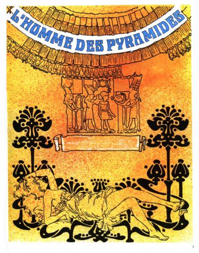 Couverture Homme des pyramides (L') - L'homme des pyramides (éd. 1979)