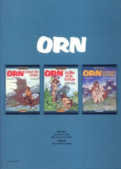 Couverture Orn tome 2 - La fille et la tortue (éd. 1983)
