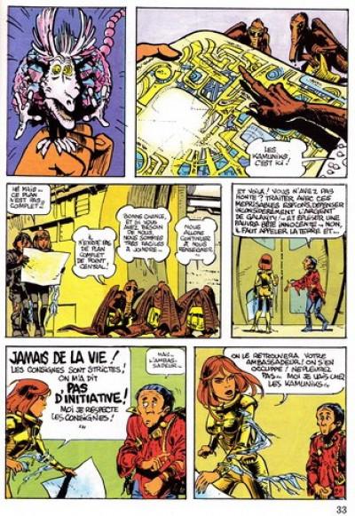 Couverture Valérian (16/22) tome 7 - L'ambassadeur des ombres
