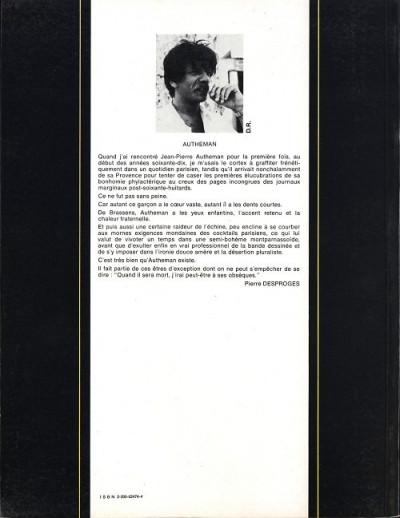 Couverture Déserteurs (Les) - Les déserteurs (éd. 1983)