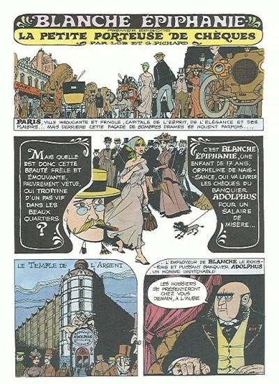 Couverture Blanche Épiphanie tome 1 - Blanche Épiphanie (éd. 1984)