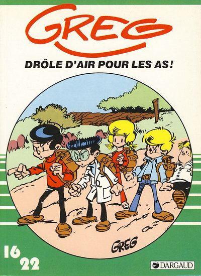 Couverture Les as (16/22) tome 7 - Drôle d'air pour les As !