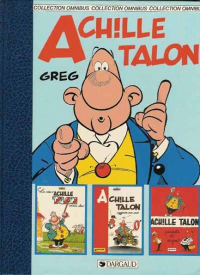 Couverture Achille Talon - Achille Talon - 3 albums (éd. 1984)